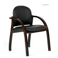 Кресло для посетителей Chairman CH 659 PU махагон