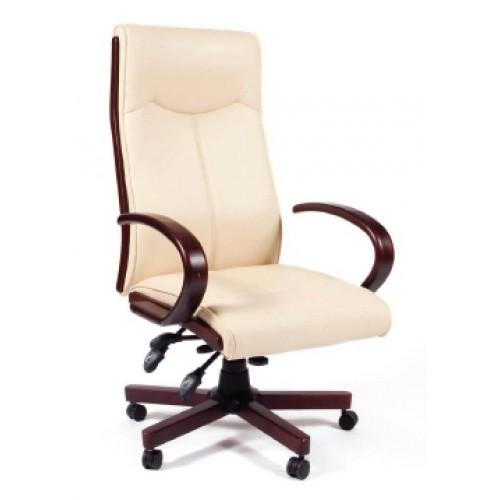 Кресло руководителя Chairman CH 411 белый