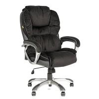 Кресло руководителя Chairman CH 434N вельвет черный
