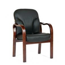 Кресло для посетителей Chairman CH 658 кожа