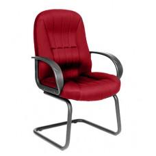 Кресло для посетителей Chairman CH 685V ткань бордовая TW