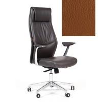 Кресло руководителя Chairman VISTA экокожа коричневая
