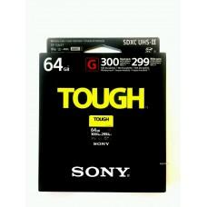 Карта памяти SONY SDXC UHS-II  64GB Tough  299/300Mb/s (U3, V90) SFG64T
