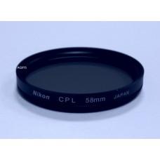 Светофильтр Nikon 58mm CPL