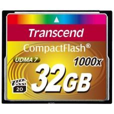 Карта памяти Compact Flash 32GB 1000x Transcend (TS32GCF1000)