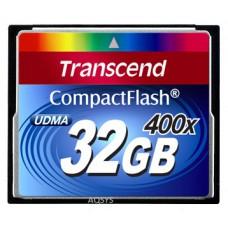 Карта памяти Compact Flash 32GB 400x Transcend (TS32GCF400