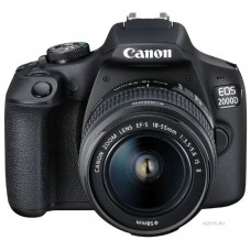 Зеркальный фотоаппарат Canon EOS 2000D Kit EF-S 18-55mm IS II
