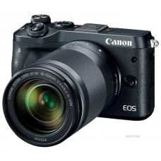 Фотоаппарат Canon EOS M6 Kit 15-45mm IS STM Black
