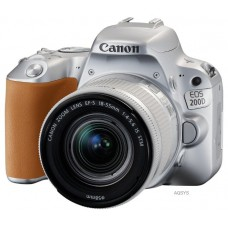 Зеркальный фотоаппарат Canon EOS 200D Kit EF-S 18-55mm IS STM Silver