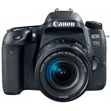 Зеркальный фотоаппарат Canon EOS 77D Kit EF-S 18-55mm IS STM
