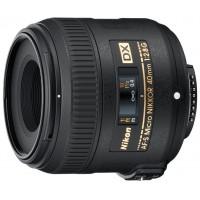 Объектив для фотоаппарата Nikon 40mm f/2.8G AF-S DX Micro Nikkor