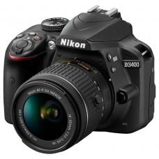 Зеркальный фотоаппарат Nikon D3400 Kit 18-55mm AF-P VR Black