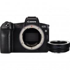 Фотоаппарат Canon EOS R Body + EF-EOS R адаптер