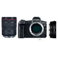 Фотоаппарат Canon EOS R Kit RF 24-105mm f/4L IS USM + EF-EOS R адаптер