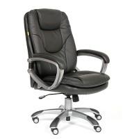 Кресло руководителя Chairman CH 668 Экокожа Черная