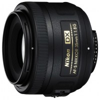 Объектив для фотоаппарата Nikon 35mm f/1.8G AF-S DX Nikkor