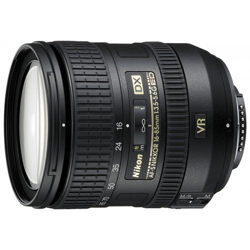 Объектив для фотоаппарата Nikon 16-85mm f/3.5-5.6G ED VR AF-S DX Nikkor