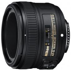 Объектив для фотоаппарата Nikon 50mm f/1.8G AF-S Nikkor
