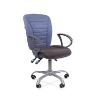 Кресло для персонала Chairman 9801 ERGO серый , синий, серо-голубой
